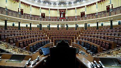 Investidura: hemiciclo del Congreso de los Diputados