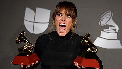 Las imagenes más locas de los Latin Grammy 2019