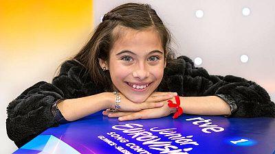 Melani, de 13 años, tendra una apretada agenda en Polonia