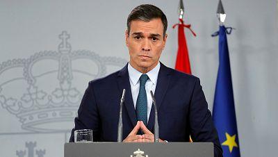El presidente del Gobierno en funciones, Pedro Sánchez, en una imagen de la semana pasada en el Consejo Europeo.