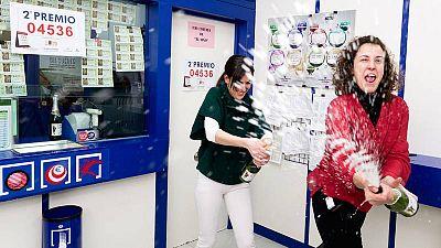 Ávila celebra la Loteria de Navidad en 2016