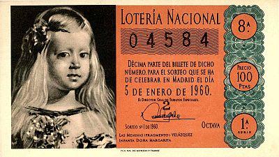 Décimo del sorteo del Niño de 1960