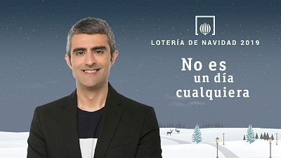 Lotería de Navidad 2019 con Carles Mesa