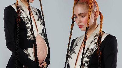 Grimes lanza su album 'Miss Anthropocene' en el séptimo mes de su embarazo
