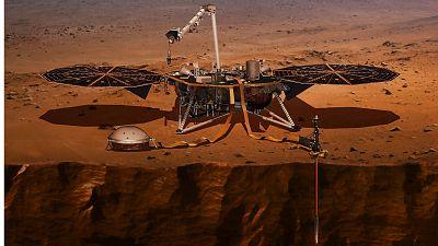 La sonda InSight de la NASA investiga la actividad sísmica en Marte