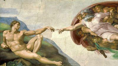 La creación de Adán, Capilla Sixtina