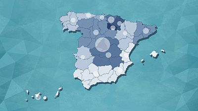 El mapa del coronavirus en España: 7.439 muertos y más de 85.200 casos