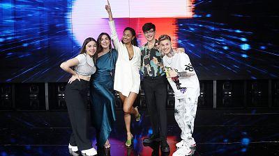 Los cinco finalistas de OT 2020 repertirán la canción de la Gala 0