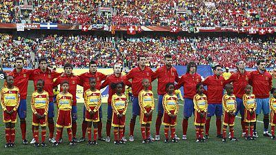 Imagen: Once inicial de España en el primer partido del Mundial 2010