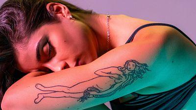 """Inés Jimm: """"Me tatué la palabra 'mía' porque estaba sufriendo mucho por mi primer amor"""""""