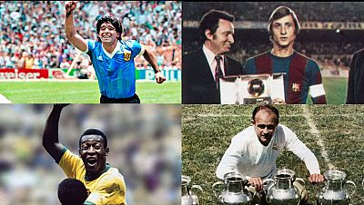 ¿Quién es el mejor futbolista de la historia? Maradona, Cruyff, Pelé o Di Stéfano