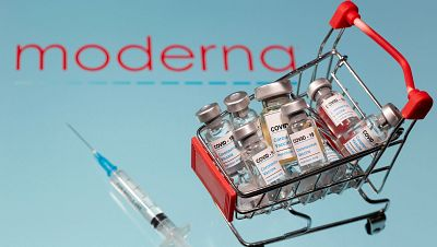 Moderna pide la autorización para su vacuna en EE.UU. y Europa