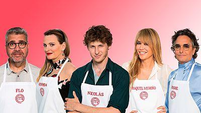 Masterchef Celebrity: estos son los cinco finalistas. Flo, Ainhoa Arteta, Nicolás Coronado, Raquel Meroño y Josie