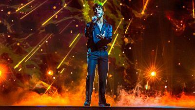 Blas Cantó actuará en la primera mitad de la final