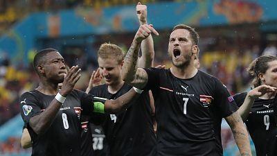 Celebración gol Aranutovic