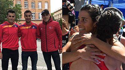 Gómez Noya, Mola, Alarza, Casillas y Godoy defenderán al triatlón español en Tokio.