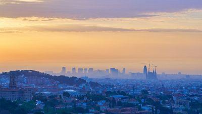 Imagen de archivo de la ciudad de Barcelona.