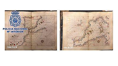 El 'Atlas Portulano' estaba en manos de un ciudadano británico