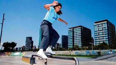 Andrea Benítez se convertirá en la primera skater española de la historia en disputar unos JJOO
