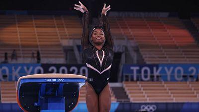 Simone Biles regresa a la competición