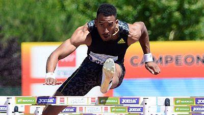 El atleta Orlando Ortega durante el pasado Campeonato de España de Atletismo.