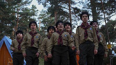 Niños en la serie documental Edelweiss