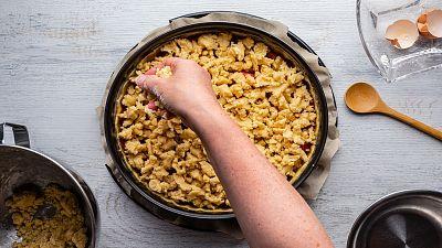 clumble tarta repostería horno