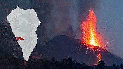 Un mes de erupción en La Palma