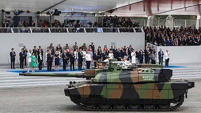 تشارك دبابة شار لوكلير AFP لودوفيك مارين