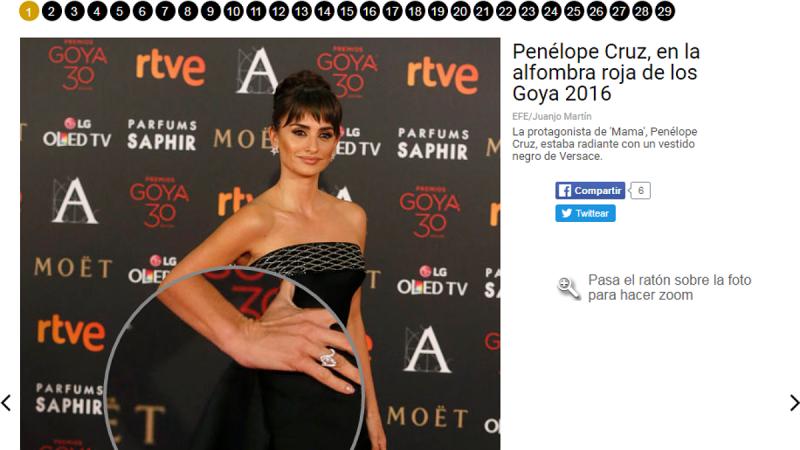 Los Goya 2016, vistos con lupa