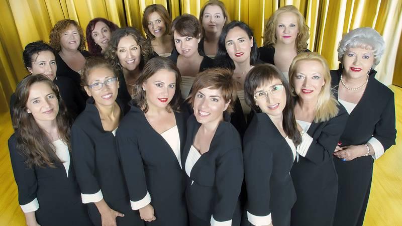Las sopranos del Coro RTVE