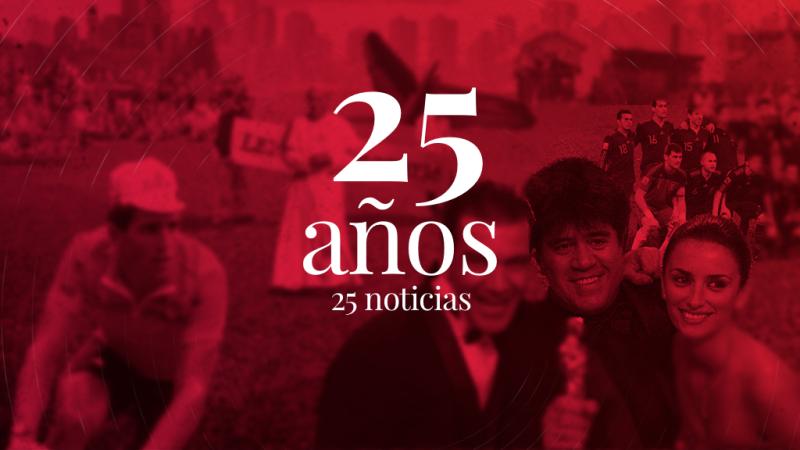 Radio 5: 25 años, 25 noticias
