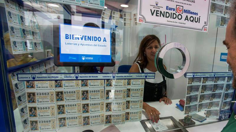 Un despacho de lotería en Cuenca