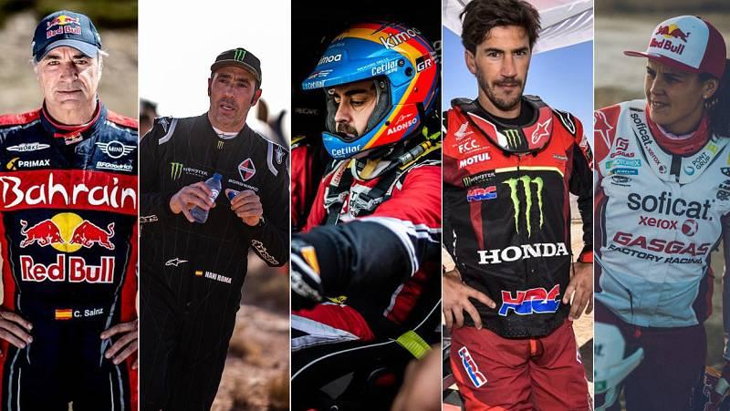 ¿Quiénes son los españoles del Dakar?