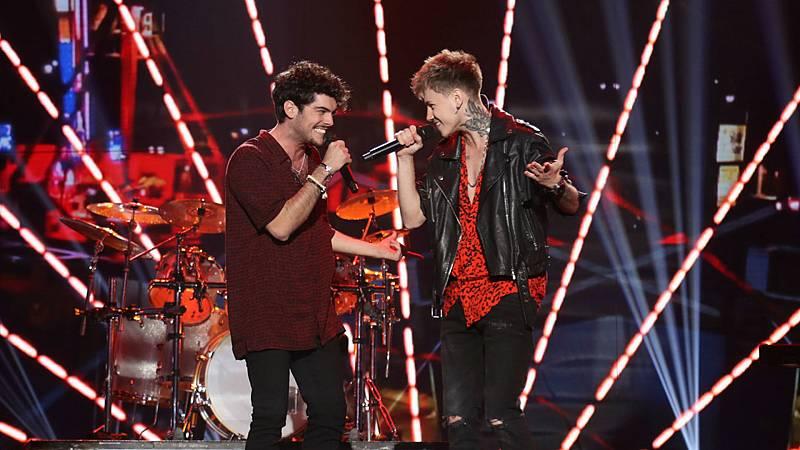 """Rafa y Hugo cantan """"Tu calorro"""" en la Gala 1 de OT 2020"""