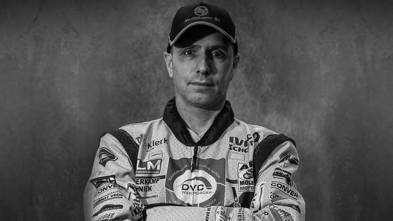 Foto del piloto neerlandés Edwin Strader, fallecido en accidente en el Rally Dakar 2020.