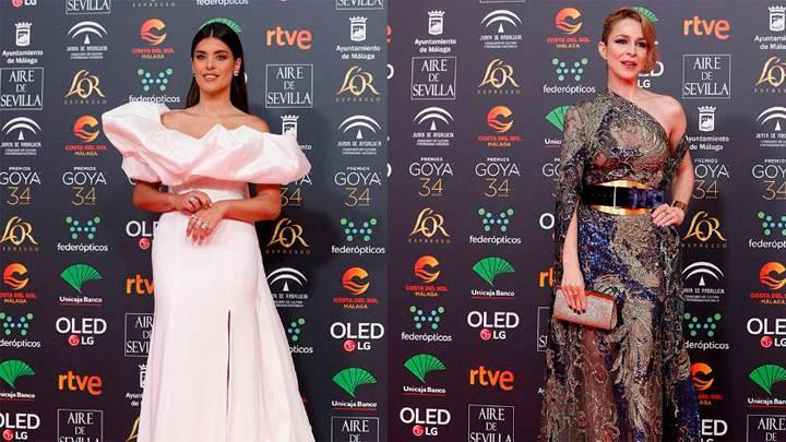 Elige a los mejores vestidos de los Goya