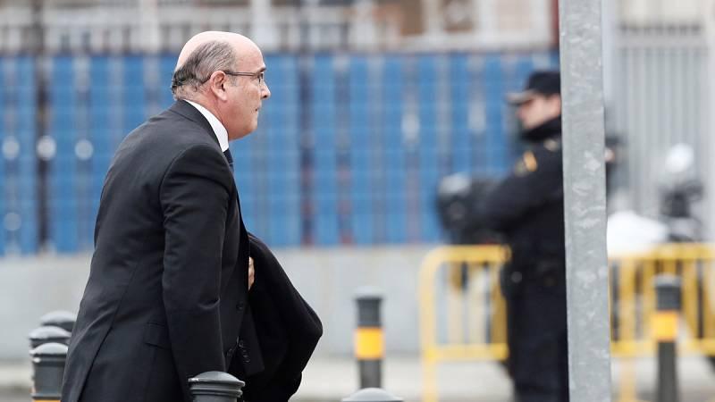 Diego Pérez de los Cobos, a su llegada a la Audiencia Nacional