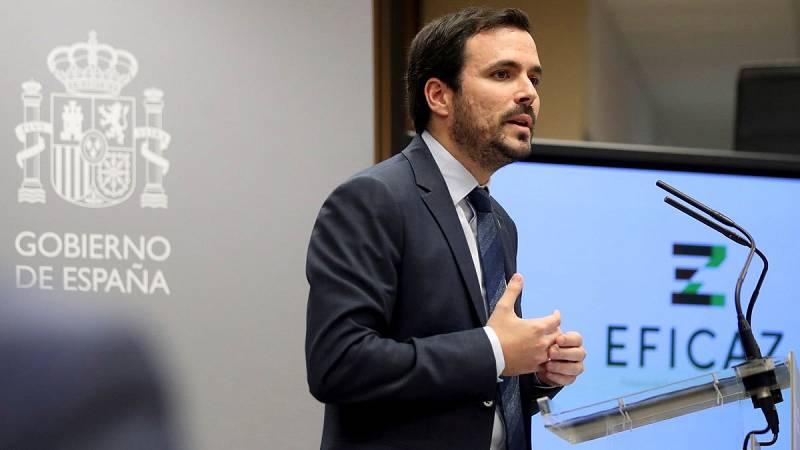 """El ministro de Consumo, Alberto Garzón, ofrece los detalles del Fichero """"Eficaz"""""""