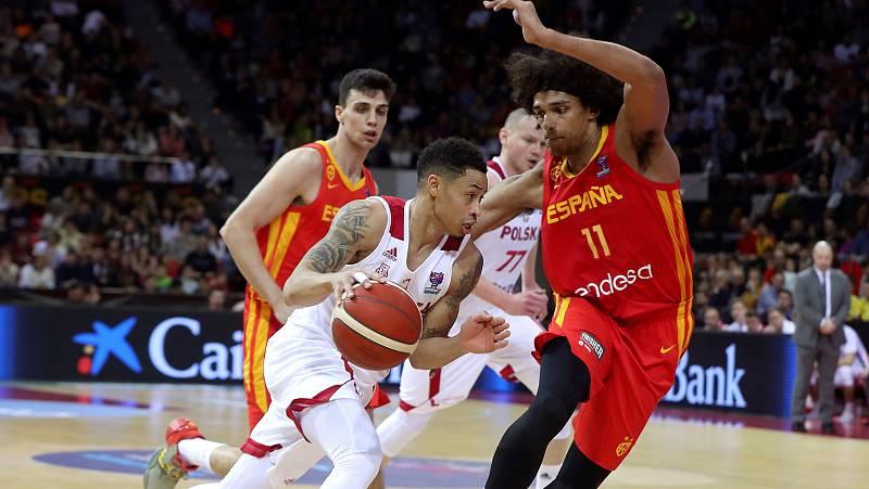 Polonia vence a España en el camino hacia el Eurobasket (69-80)