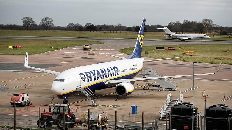 Coronavirus: Ryanair cancelará la mayoría de sus vuelos a partir del 24 de marzo