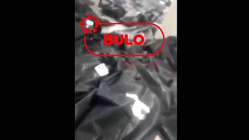 No, el vídeo de las bolsas negras de cadáveres no es de España o Nueva York. Es Guayaquil, Ecuador