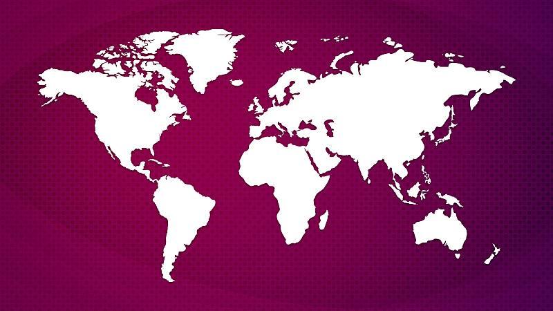 El mapa mundial del coronavirus