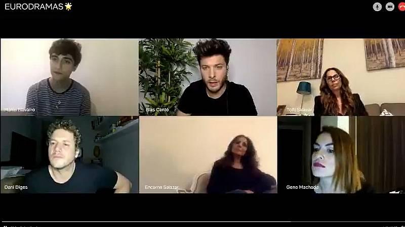 Eurovisión: Netflix da por ganador a Blas Cantó, como en RTVE Digital en una campaña publicitaria con las Azúcar Moreno, Daniel Diges, Manel Navarro y Geno