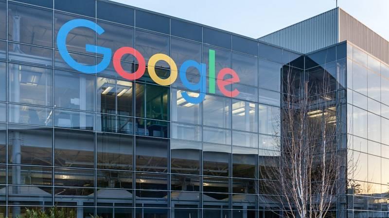 Fachada del edificio de Google en Silicon Valley
