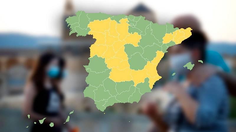 El mapa de la desescalada en España: ¿en qué fase está tu provincia?