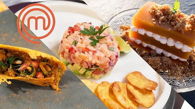 Encuentra todas las recetas de MasterChef en el nuevo buscador del portal de Cocina