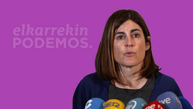 Elecciones en País Vasco, 2020: Miren Gorrotxategi, candidata de Elkarrekin Podemos a Lehendakari