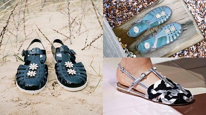 Vuelven las sandalias cangrejeras, nostalgia y reinvención del verano