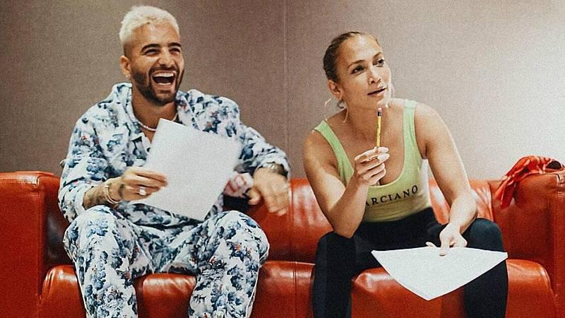 Jennifer López y Maluma juntos... ¿se viene temazo?